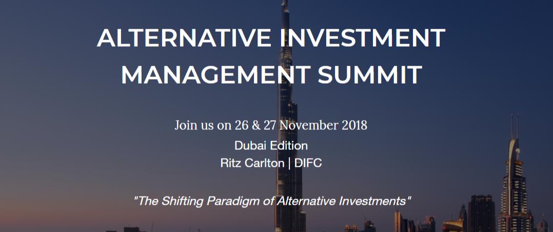 AIM Summit to be held at Ritz Carlton this November 26th-27th